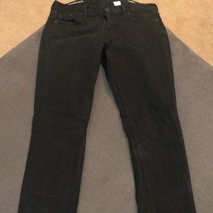 JCrew Matchstick Black Jean